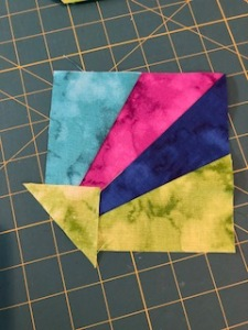 corner pop sew on replacement triangle