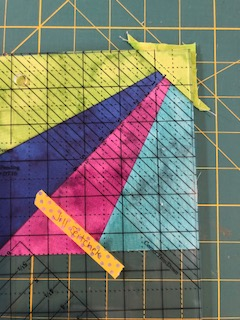 corner pop trim down step 1
