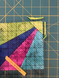 corner pop trim down step 2