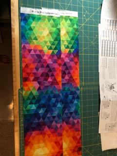 Layout fabric
